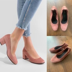 Minelli Pink Suede Shoes